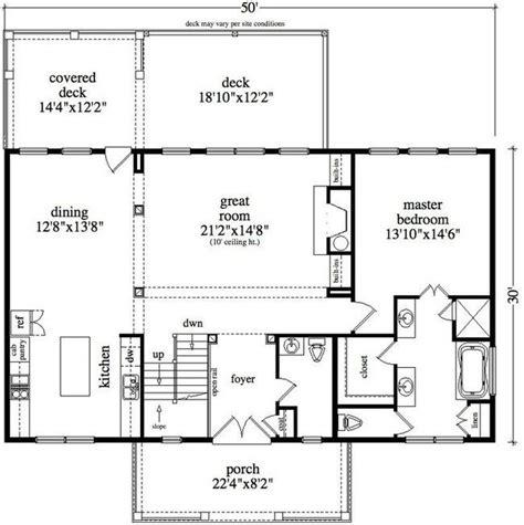50 x 50 floor plans 30 x 50 floor plan lot 6 house plans pinterest cabin