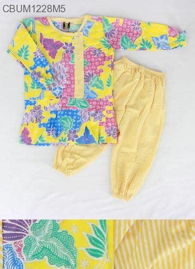 Gamis Batik Shafana setelan anak shafana motif sekar baju muslim anak murah batikunik