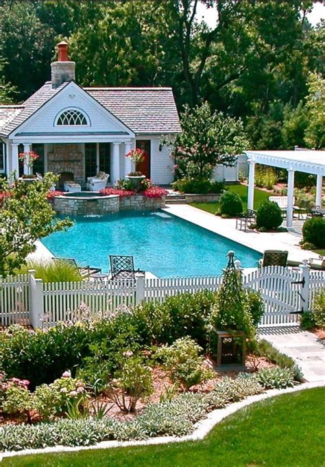 small pool house luxury homes my backyard could look like pinterest