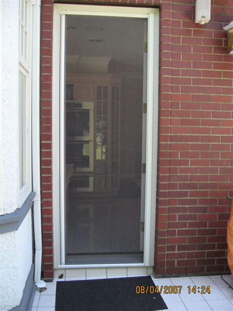 Back Entry Doors Omnifine Retractable Screen Door And Window Vancouver