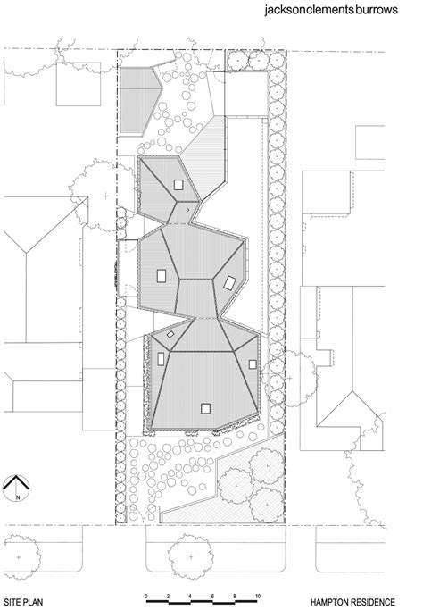 the burrow floor plan hton house jackson clements burrows architects