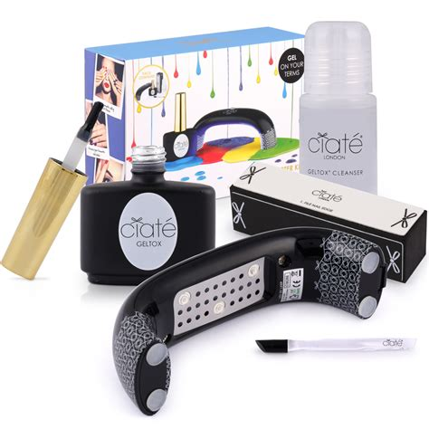 Ciate Detox Kit by Ciat 233 To Launch Its At Home Gel Nail System Geltox