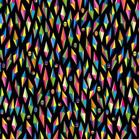 artistic pattern wallpaper backgrounds hd multi color pop art effect skulls wallpaper
