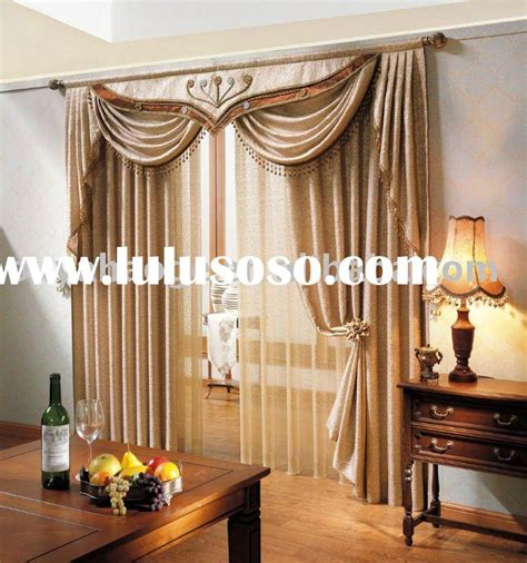 Drapes With Attached Valance Window Curtain Design Valances Valance Patterns Window