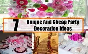 Unique and cheap party decoration ideas unique ideas for cheap party