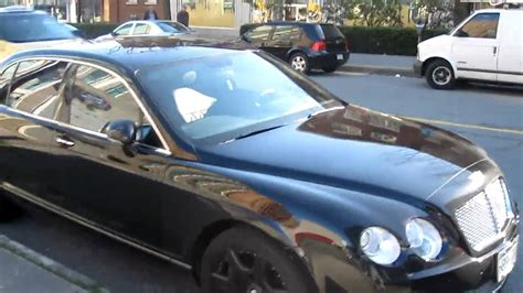 bentley blacked out bentley continental flying spur blacked out hd youtube