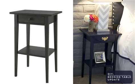 Bedroom Table Ls Ikea by Diy Ikea Nightstand Transformed Blonded By Style