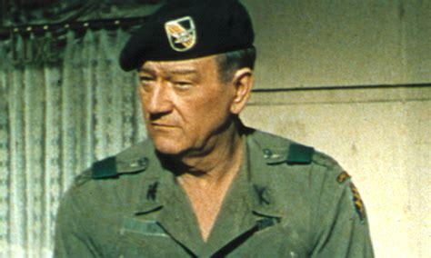 john wayne war movies the green berets how the war was spun film the guardian