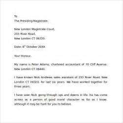 character reference letter free documents in