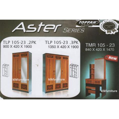 Lemari Tv Toppan lemari pakaian toppan seri aster bebas jamur harga