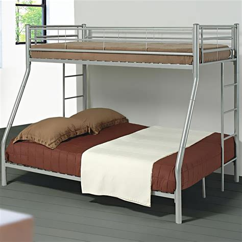 twin over full metal bunk bed denley metal twin over full bunk bed bunk beds