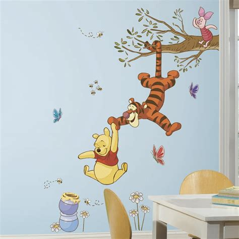 Winnie The Pooh Wall Stickers For Nursery ole brumm gren wallsticker fra kun 519 kr
