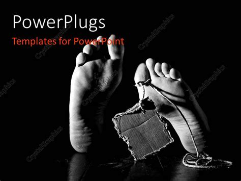 murder powerpoint template powerpoint template of dead with small