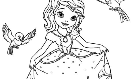 get this sofia the first coloring pages free printable 98962