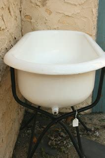hungarian baby bathtub beach house living vintage baby tub with iron stand