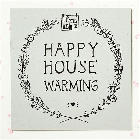 House Warming by Happy House Warming Card By Wolf Whistle