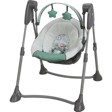baby swings graco duetsoothe swing and rocker winslet walmart com