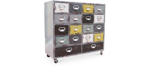 cassettiere con rotelle cassettiera vintage industriale con rotelle legno