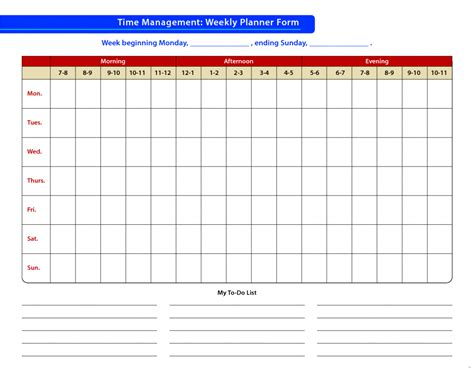 21 Time Management Schedule Template Easy Marevinho Easy Schedule Template