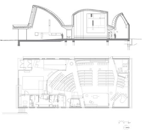 architecture photography section plan 115930