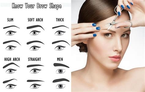 how to perfectly shaped eyebrows at your home no