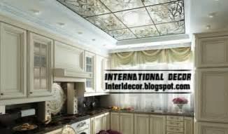 interior decor idea top catalog of kitchen ceilings false brilliant designer kitchen brings spectacular walnut