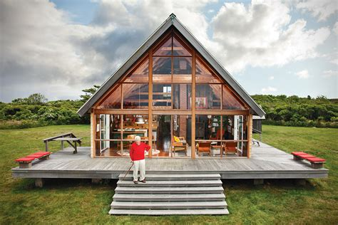 Rhode Island Cing Cabins by Jens Risom S Block Island Cabin Retreat Hiconsumption