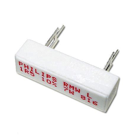 philips resistors rmw l 1r5 10 philips resistor 1 5 ohm 7w 10 sand 2021000420