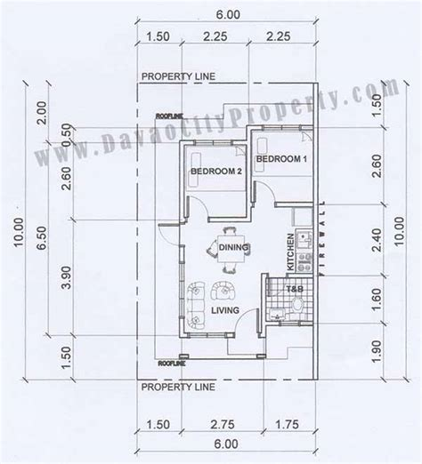 low cost housing plans low cost housing floor plans philippines