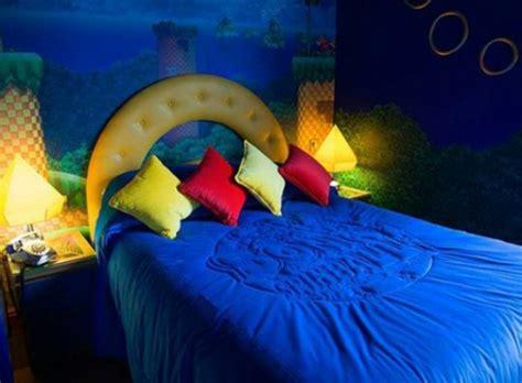 videospiel schlafzimmer kreative raumgestaltung mit mustern aus videospielen