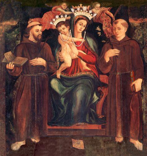 madonna della consolazione cappella santa di 242 l approfondimento di