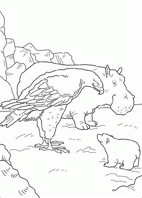 coloring pages the little polar bear the little polar bear coloring pages