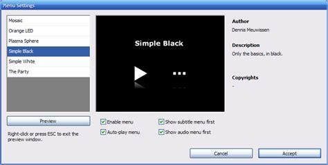 dvd flick menu templates guida a dvd