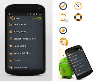 free mobile phone security downloads avast mobile security 2 0 antivirus free for
