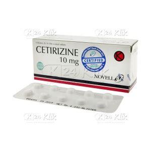 Obat Alergi Cetirizine jual beli cetirizine 10mg tab novell k24klik