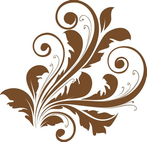 svg pattern style vector decorative floral design free vector 4vector