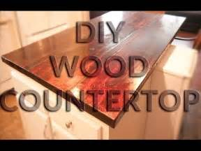 Do It Yourself Kitchen Islands diy wood countertop butcher block style anyone can do
