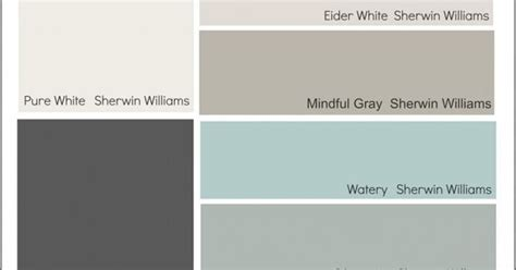 favorite hgtv paint color collections from sherwin williams color palette monday home