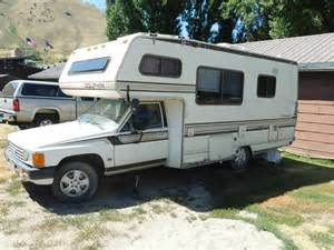 Toyota Motorhome 1986 Toyota Dolphin Motorhome For Sale In Jackson Wy