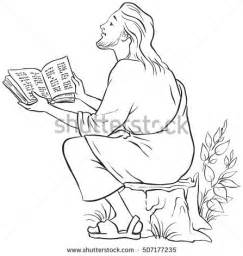 reading the bible coloring page yefimenko s portfolio on
