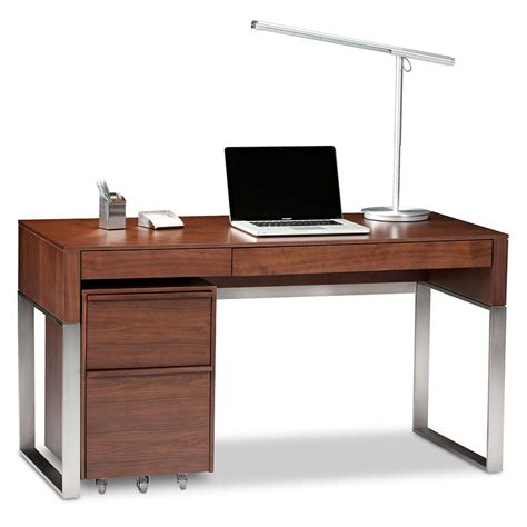 modern desk set bdi cascadia chocolate modern desk set eurway furniture