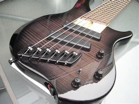 fanned fret 6 string bass dingwall abi 6 string bass like the fanned fret bridge