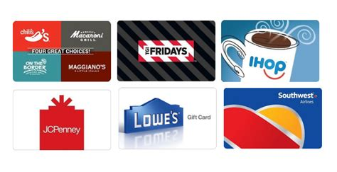 Lowes Gift Card Sale - lowe s jcpenney gift cards up to 10 off more