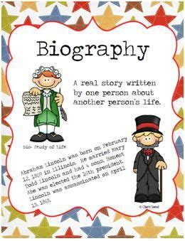 teaching biography genre 17 best images about literacy genre biography on