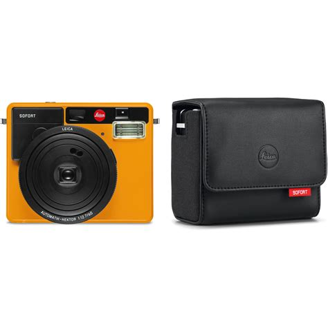 Leica Sofort leica sofort instant with kit orange b h