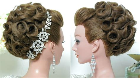 bridal hairstyle wedding updo for hair tutorial