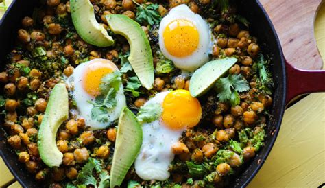 carbohydrates in broccoli skillet chickpeas and broccoli rice recipe eggland s best