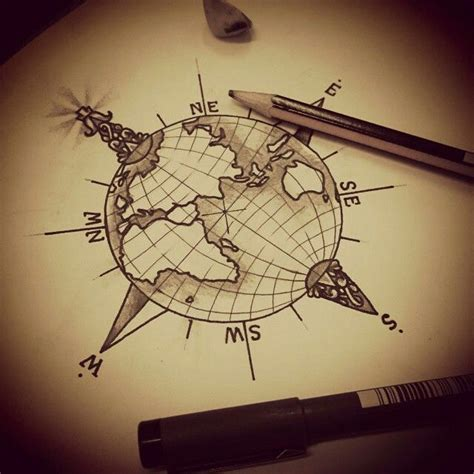 globe tattoo ideas best 25 globe tattoos ideas on