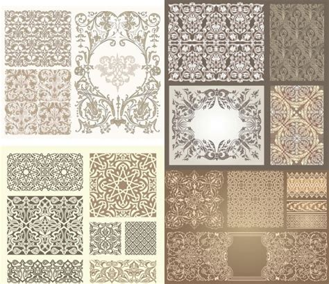 pattern types in art kinds of pattern vector free vector in encapsulated