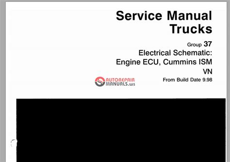 volvo service manual trucks  electrical schematic auto repair manual forum heavy